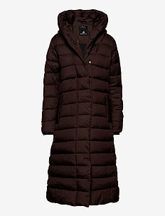 STELLA WNS COAT 2 - dunkappor - coffe brown