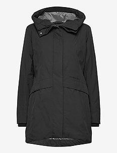 CAJSA WNS PARKA 2 - parka coats - black