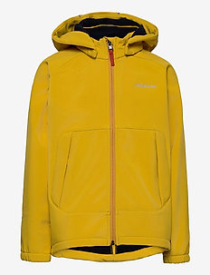 POGGIN KIDS JKT 2 - veste softshell - mellow yellow
