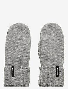 KAJ MITTENS - gloves - grey melange