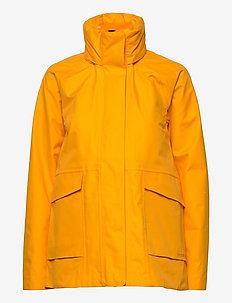 UNN WNS JKT 2 - lichte jassen - saffron yellow