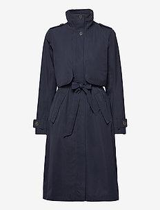 LOVA WNS COAT 3 - dunne jassen - dark night blue