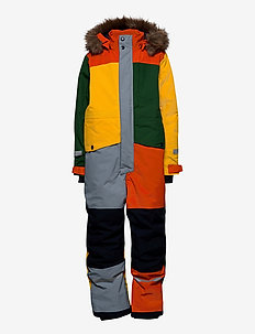 BJÖRNEN MULTI KDS COVERALL - snowsuit - multicolour
