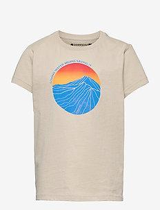 FRET KIDS T-SHIRT - short-sleeved t-shirts - light beige