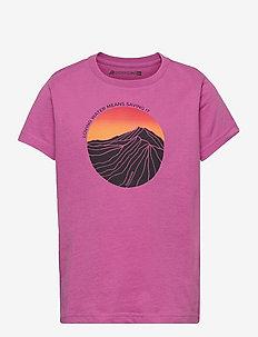 FRET KIDS T-SHIRT - short-sleeved t-shirts - radiant purple