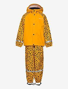 SLASKEMAN PR SET 4 - sets & suits - citrus yellow dots