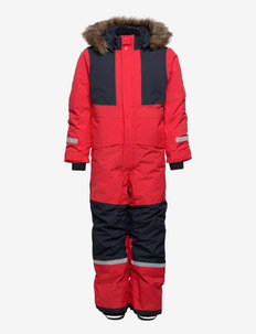 BJRNEN KIDS COVER 5 - snowsuit - bright red