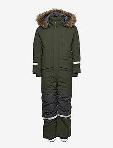 BJÖRNEN KIDS COVER 5 - snowsuit - deep green
