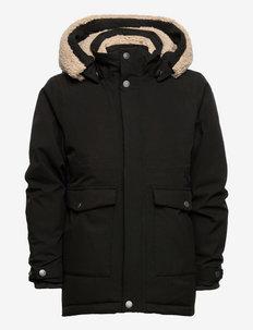LIZZO KIDS PARKA - insulated jackets - black