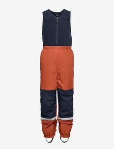 GORDON KIDS PANTS - shell & rain pants - bisquit brown