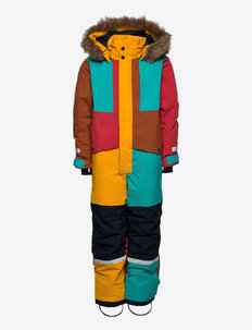 BJRNEN MULTI CVR 2 - snowsuit - multicolour