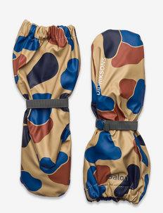 PILEGLOVE PR KIDS 5 - rain gloves - beige blob camo