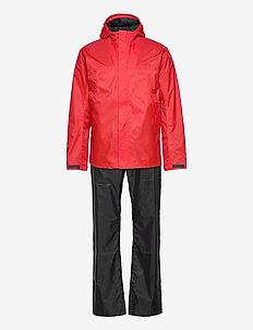 AMUR USX SET - manteaux de pluie - lava red