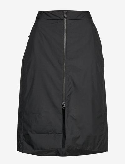 AGATA WNS SKIRT - jupes midi - black