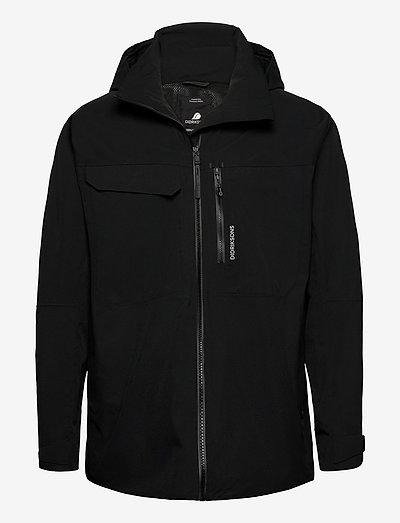 ASTON USX JKT - manteaux de pluie - black