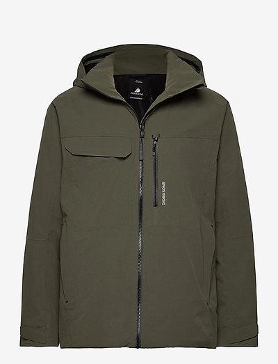 ASTON USX JKT - manteaux de pluie - fog green