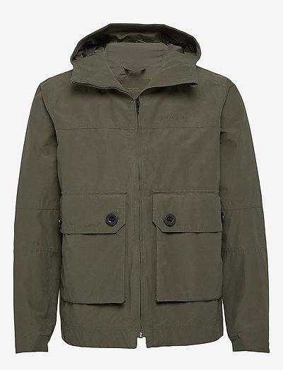 STELLAN USX JKT - manteaux de pluie - dusty olive