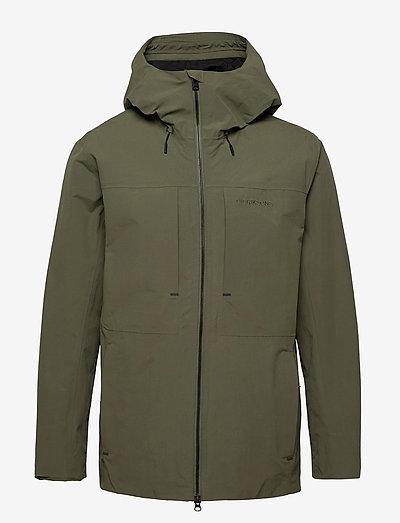 OVE USX JKT - manteaux de pluie - dusty olive