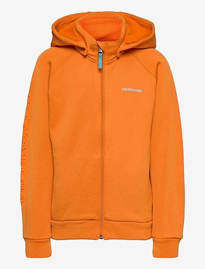 CORIN KIDS FULLZIP 4 - hoodies - burnt glow