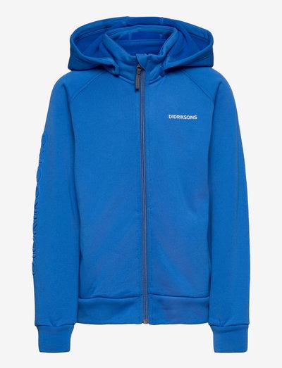 CORIN KIDS FULLZIP 4 - hoodies - classic blue