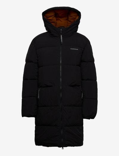 NOMI WNS PARKA - vinterfrakker - black