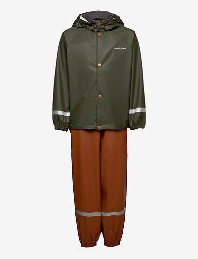 SLASKEMAN KIDS SET 5 - sets & suits - deep green