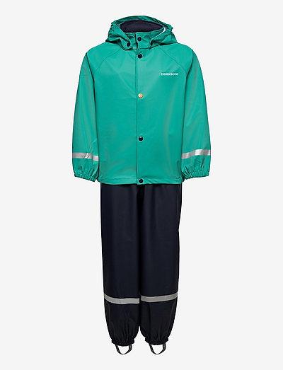 SLASKEMAN KIDS SET 5 - sets & suits - peacock green