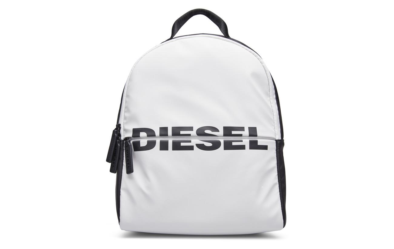 Diesel BOLDMESSAGE  BOLD BACKPACK - backpa - BLACK/WHITE