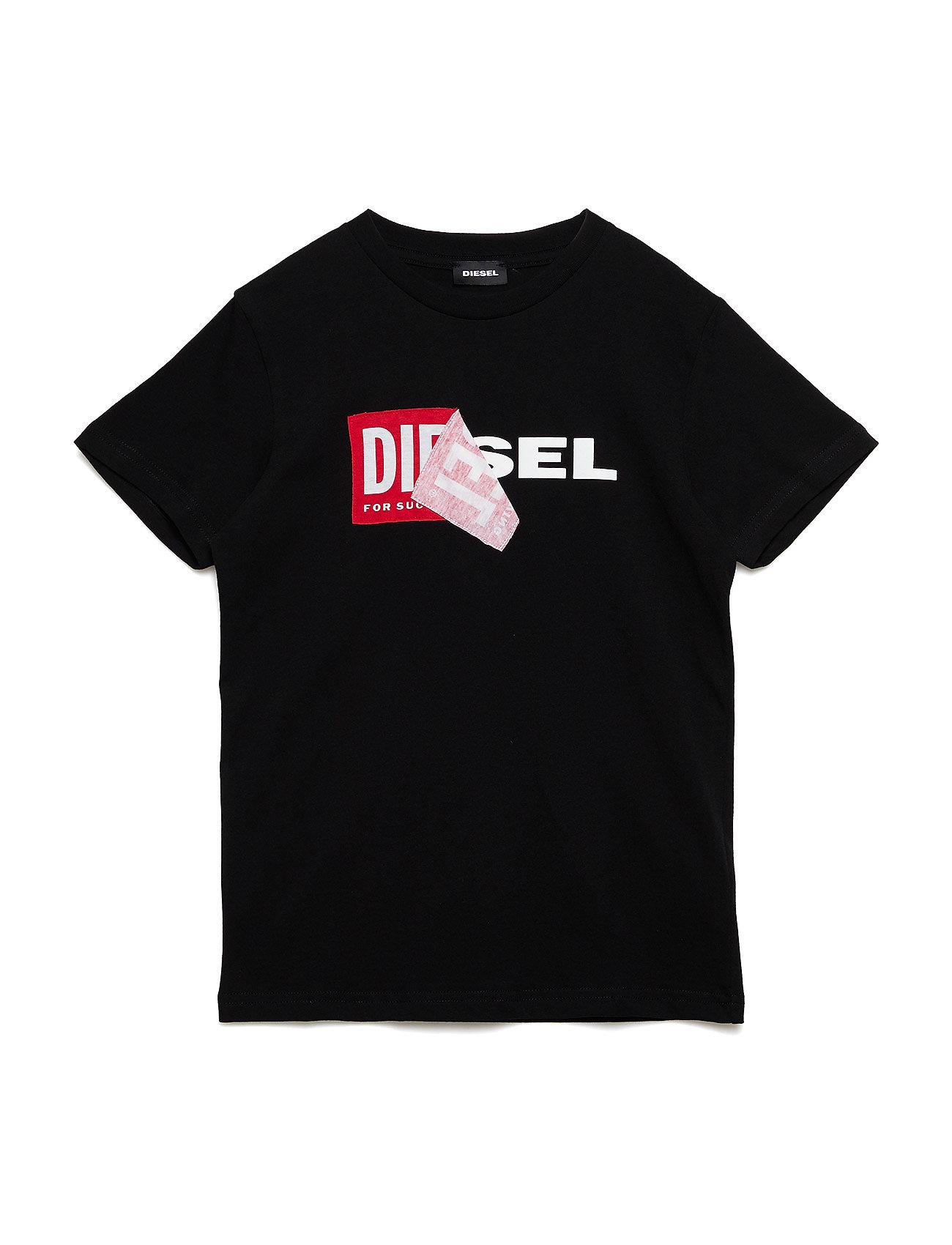 Diesel TDIEGO T-SHIRT - NERO