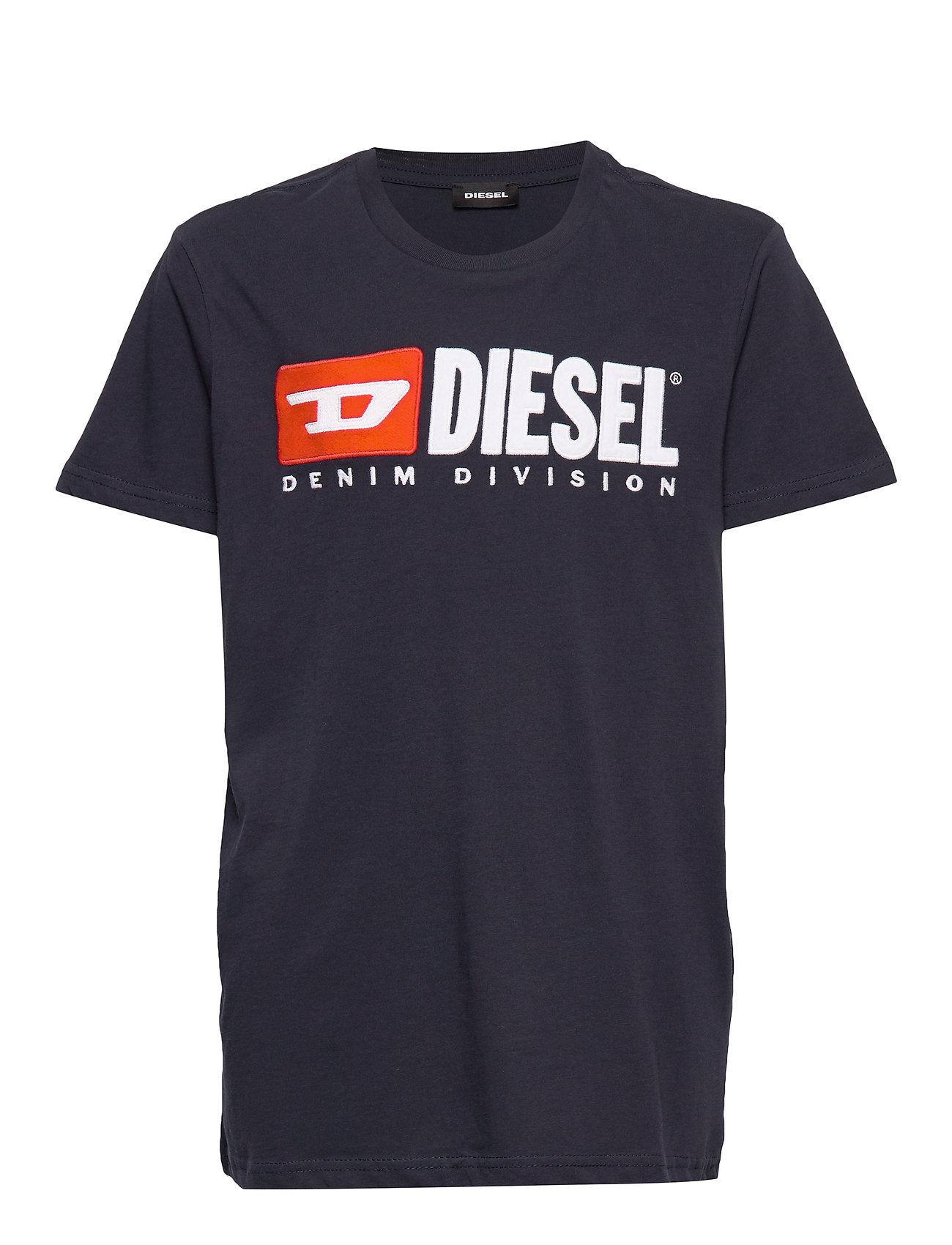 Diesel TJUSTDIVISION T-SHIRT - DARK BLUE