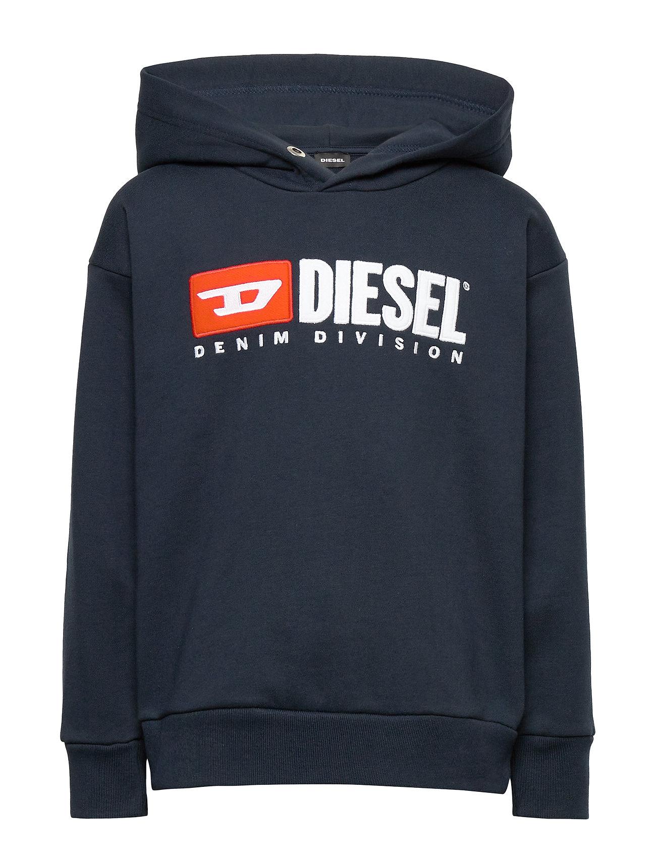 Diesel SDIVISION OVER SWEAT-SHIRT - DARK BLUE
