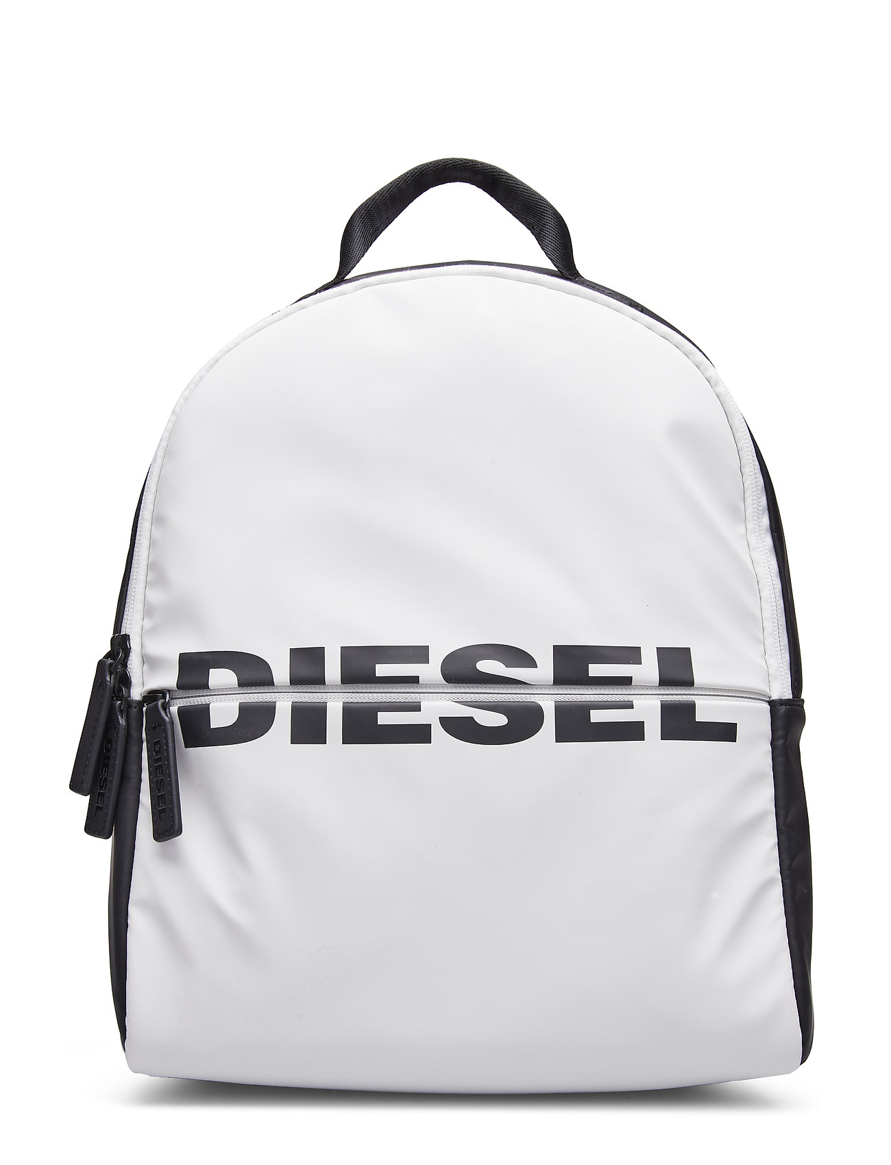 "Diesel ""BOLDMESSAGE"" BOLD BACKPACK - backp - BLACK/WHITE"