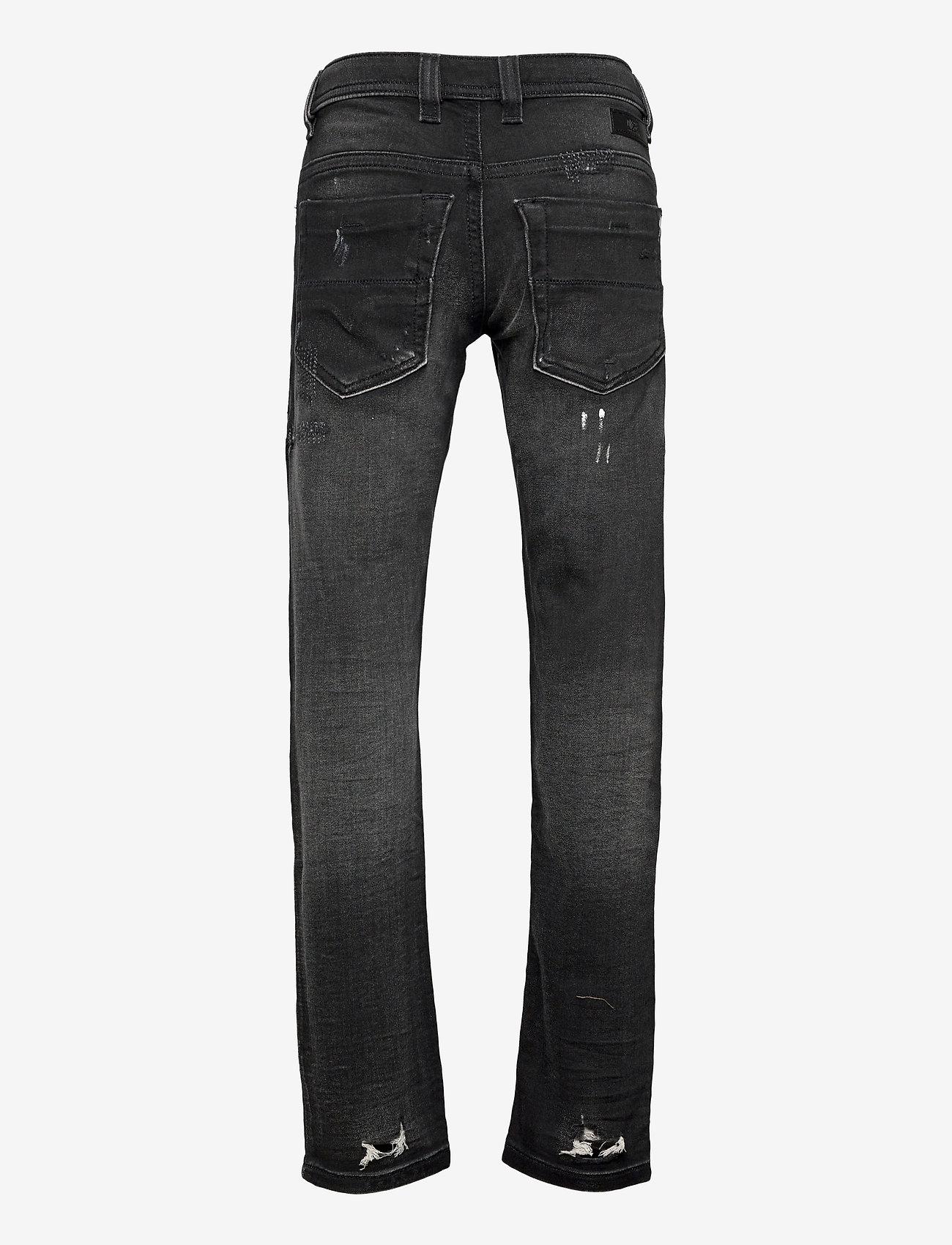 Diesel - THOMMER-J JJJ TROUSERS - jeans - denim nero - 1