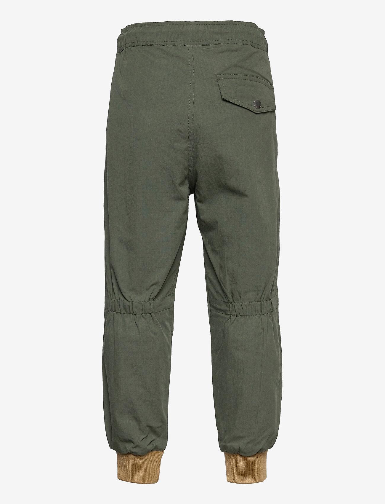 Diesel - PLEVOKI TROUSERS - trousers - olive night - 1