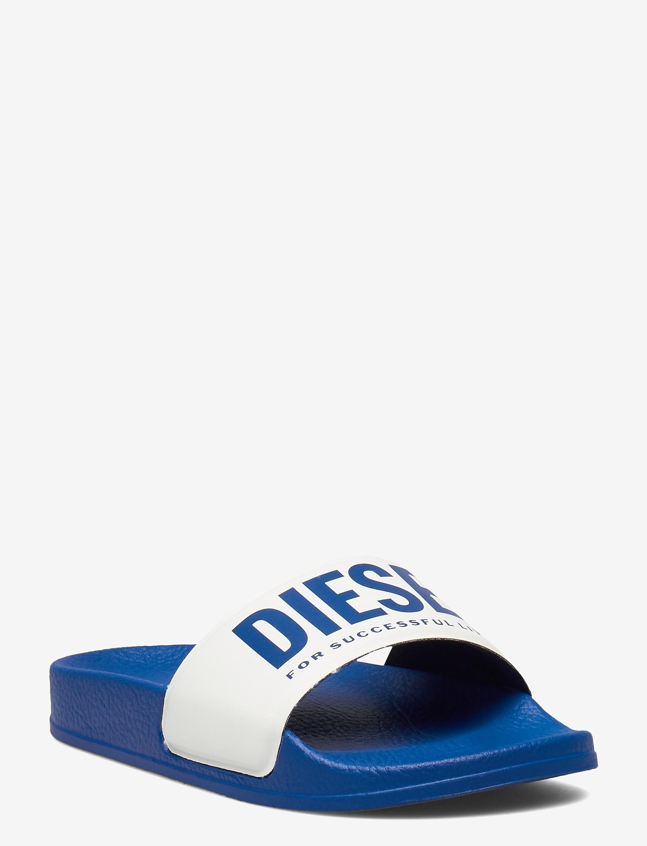 Diesel - MAYEMI SA-MAYEMI CH SANDALS - pool sliders - classic blue/vaporous gray - 0