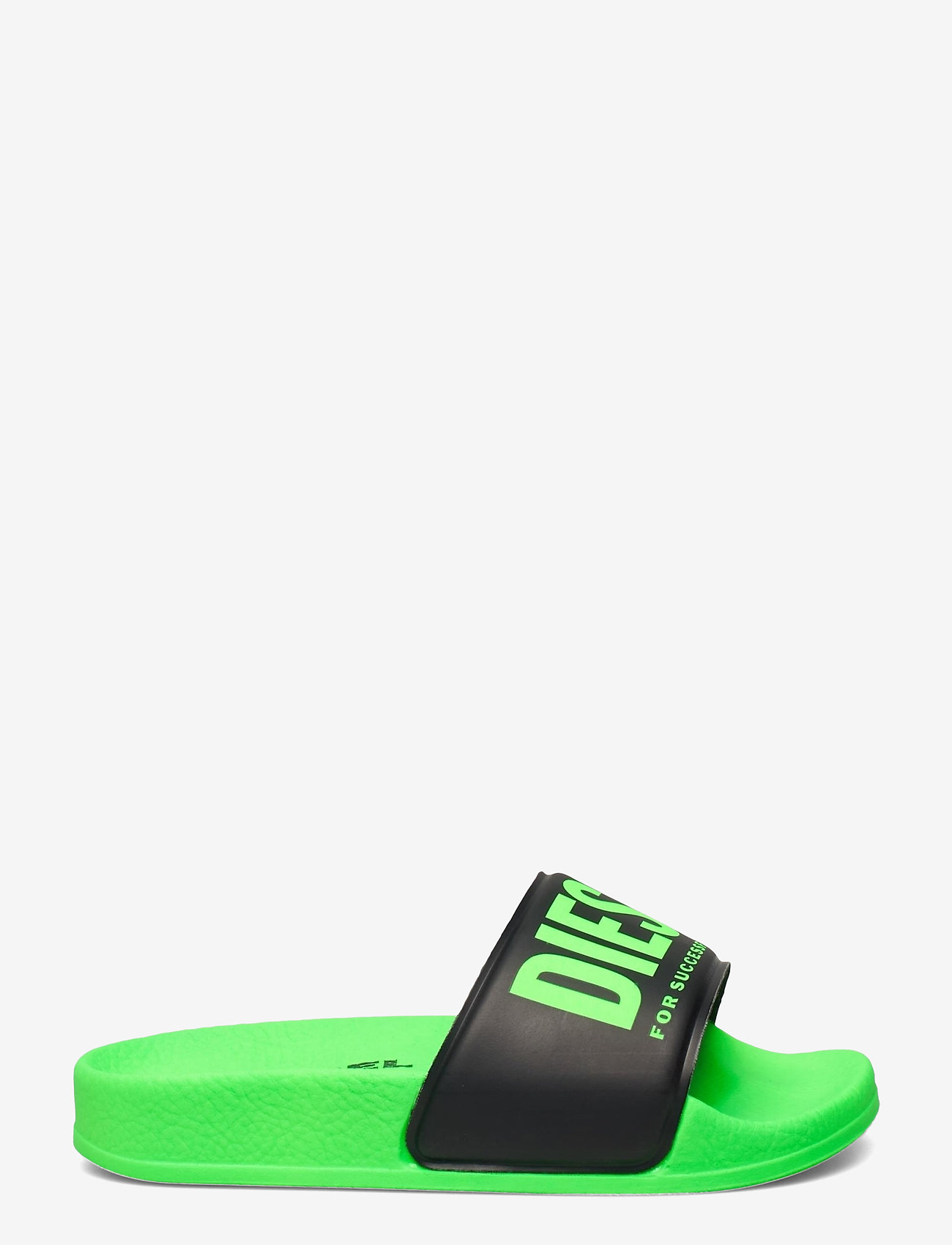 Diesel - MAYEMI SA-MAYEMI CH SANDALS - pool sliders - green fluo/black - 1