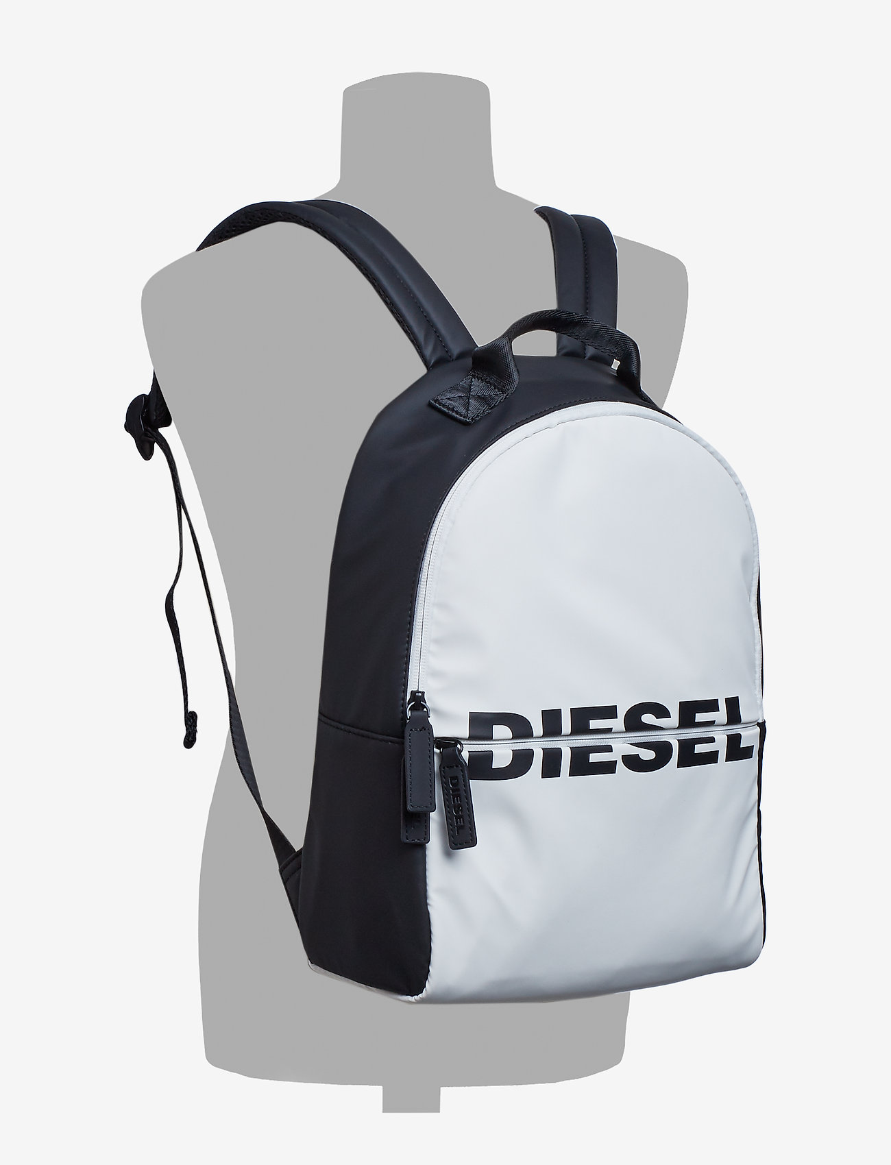 Diesel - BOLDMESSAGE  BOLD BACKPACK - backpa - reput - black/white