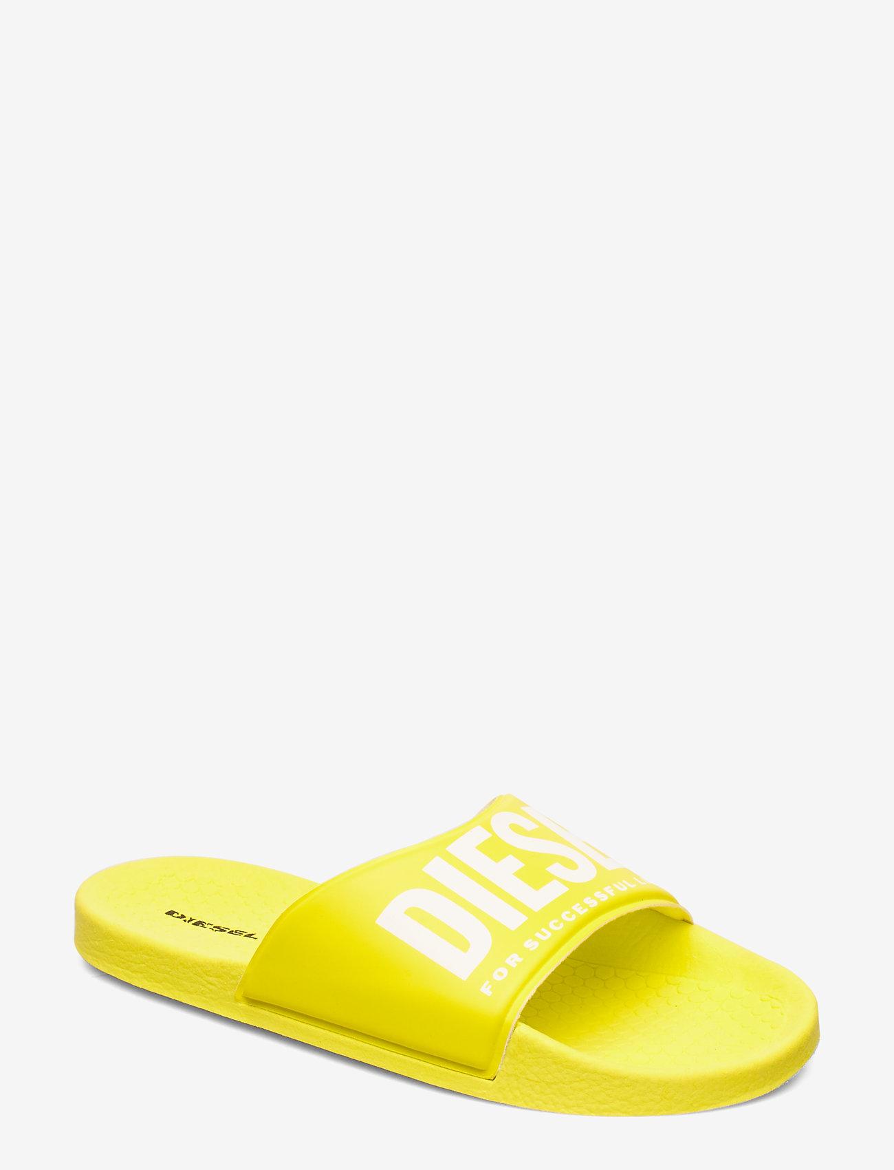 Diesel - A-LOHAA  FF 01 SLIPPER YO - slide - pool sliders - blazing yellow
