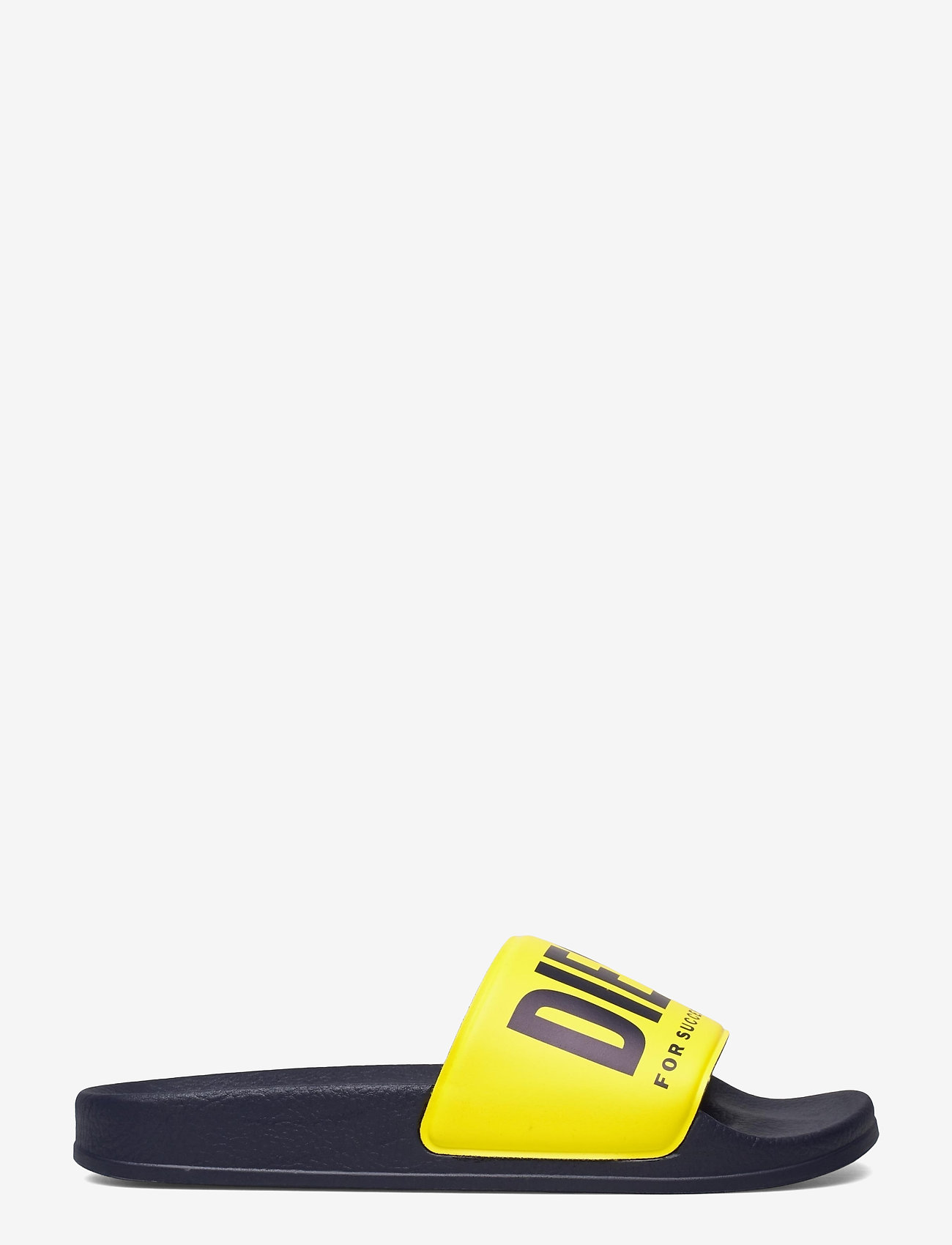 Diesel - MAYEMI SA-MAYEMI YO SANDALS - pool sliders - peacoat blue/blazing yellow - 1
