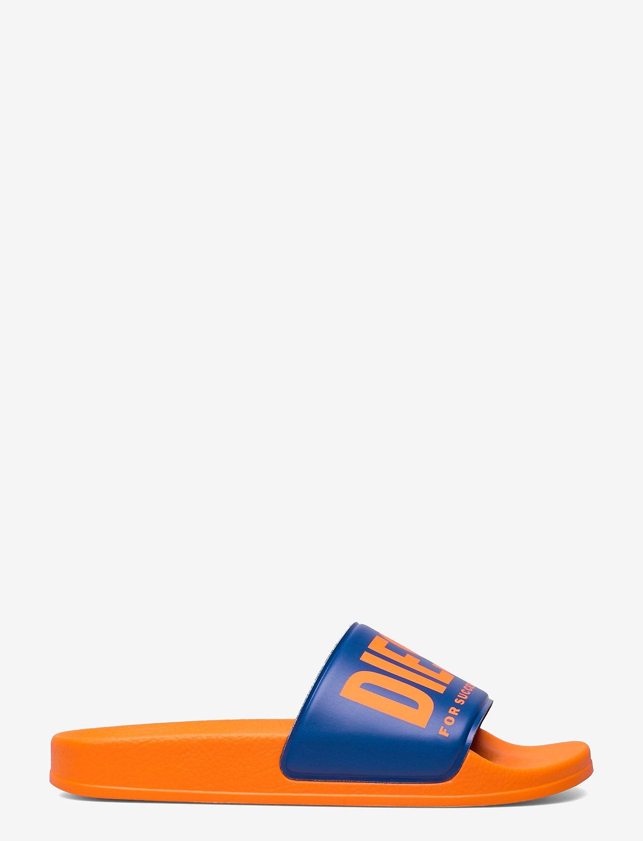 Diesel - MAYEMI SA-MAYEMI YO SANDALS - pool sliders - flame/classic blue - 1