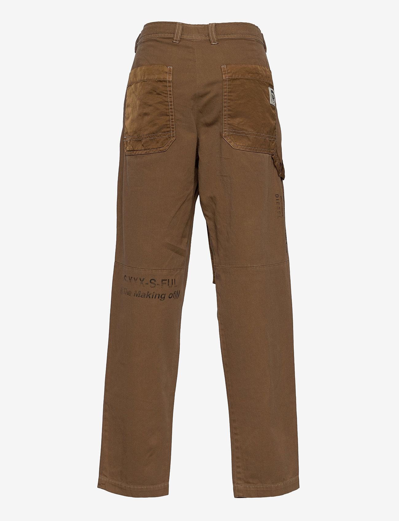 Diesel - PTRENT TROUSERS - trousers - sandy brown - 1