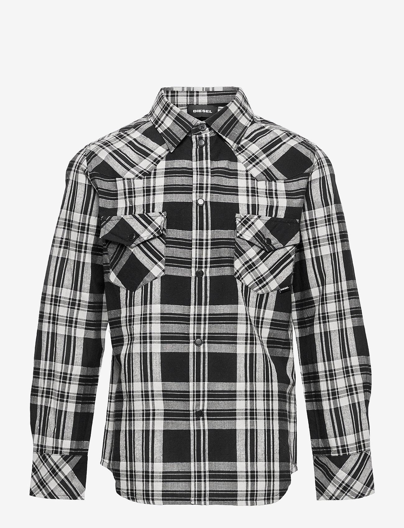 Diesel - CSEASTO SHIRT - shirts - nero - 0