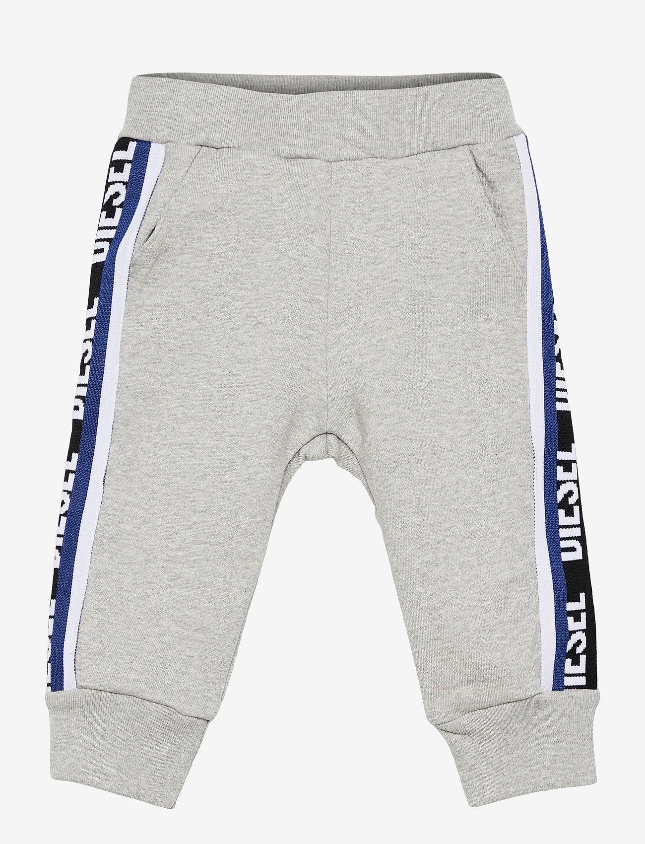 Diesel - PSUITOB TROUSERS - trousers - grigio melange nuovo - 0