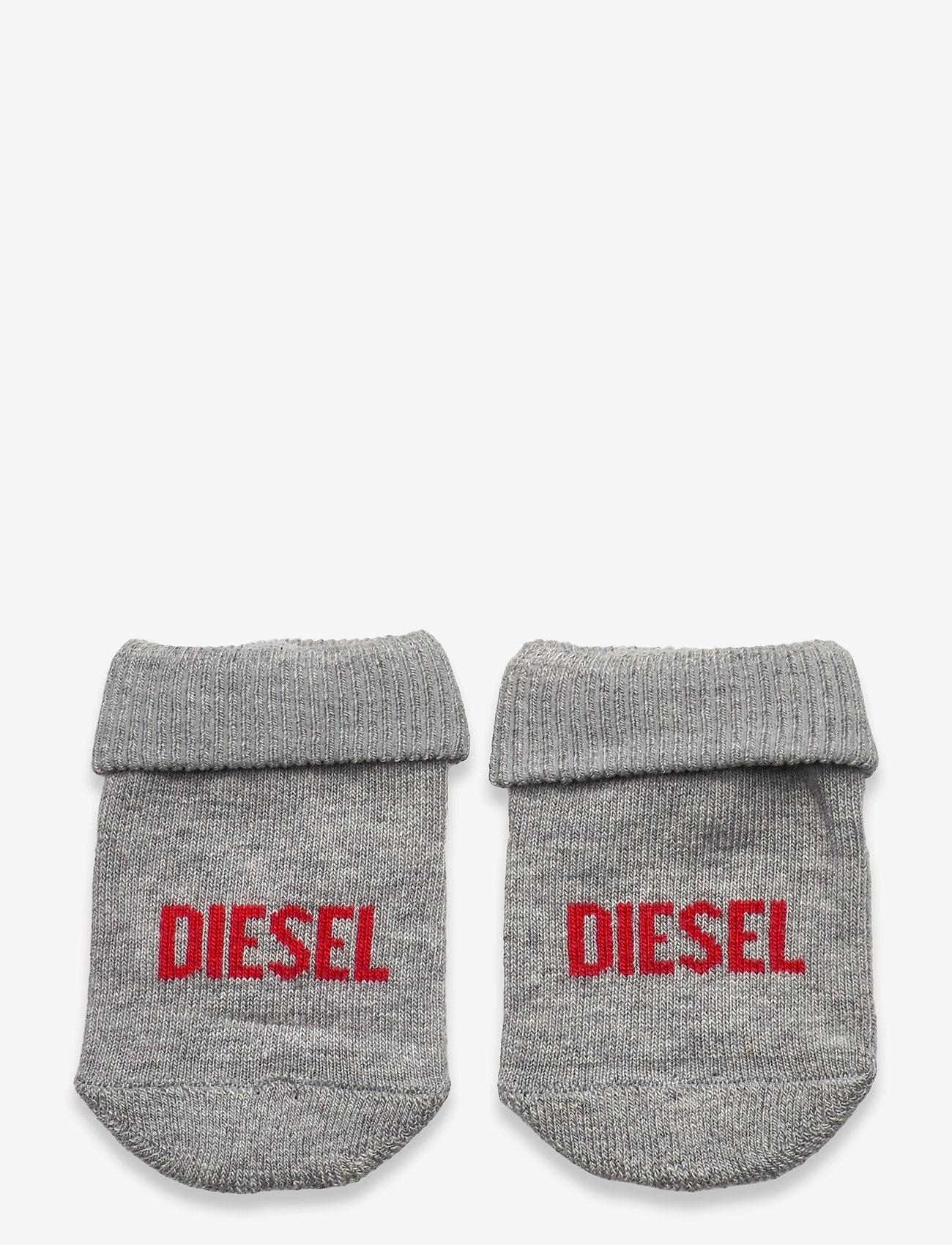 Diesel - ZEBET-NB SOCKS - skarpetki - grigio melange nuovo - 0