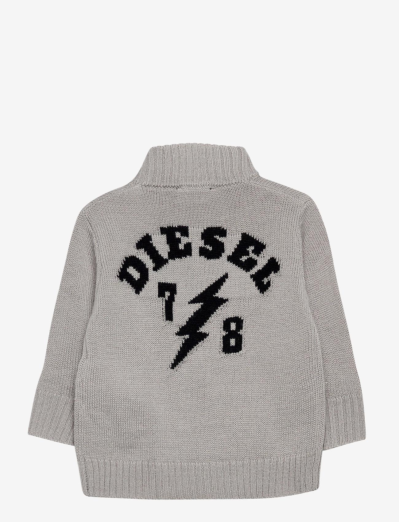Diesel - KJONB KNITWEAR - gilets - grigio chiaro nuovo - 1