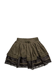 GIUPI SKIRT - MILITARY GREEN