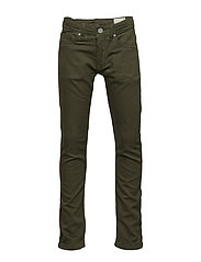THOMMER-J JJJ TROUSERS - OLIVE NIGHT