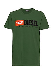 TJUSTDIVISION T-SHIRT - DARK GREEN