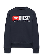 SCREWDIVISION OVER SWEAT-SHIRT - DARK BLUE