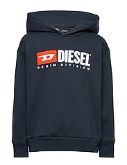 SDIVISION OVER SWEAT-SHIRT - DARK BLUE